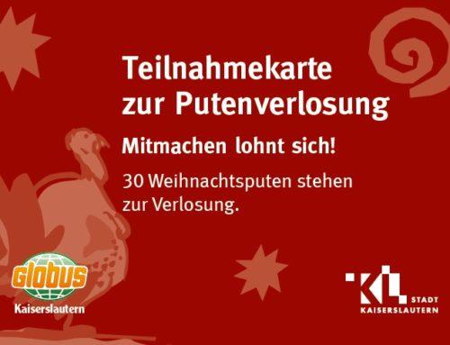 """""""Traditionelle Putenverlosung"""" mit dem Lautrer Christkind, Do. 19.12. auf dem Weihnachtsmarkt"""
