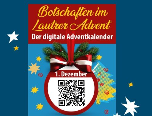 Botschaften im Lautrer Advent – 1. bis 24. Dezember 2020